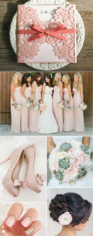 explore february wedding colors