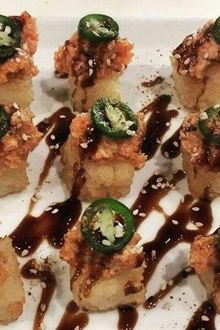 Sushi sauce, Tuna tartar and Tuna on Pinterest