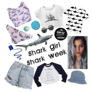 Shark Girl- Shark week