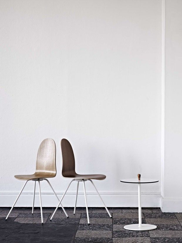 Arne Jacobsen: Tongue chairs.