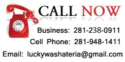 Lucky Washateria specializes in wash, dry, & fold; dry clean; shoe repair in Richmond. Lucky Washateria also provides pickup & delivery services in Rosenberg.