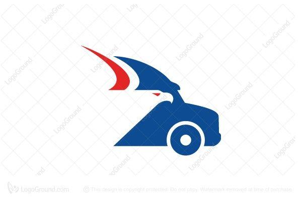 Logo for sale: Eagle Truck Head Logo