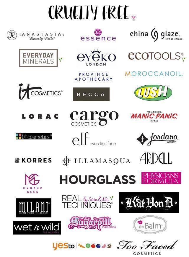 Principales marcas de cosmética cruelty free  | Cruelty Free