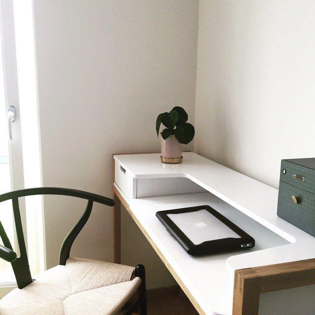 """150 gilla-markeringar, 5 kommentarer - Inredning, Habitat Sverige (@habitatsverige) på Instagram: """"Favorit! Farringdon skrivbord är praktiskt och passar för små utrymmen – perfekt för hemmakontoret…"""""""
