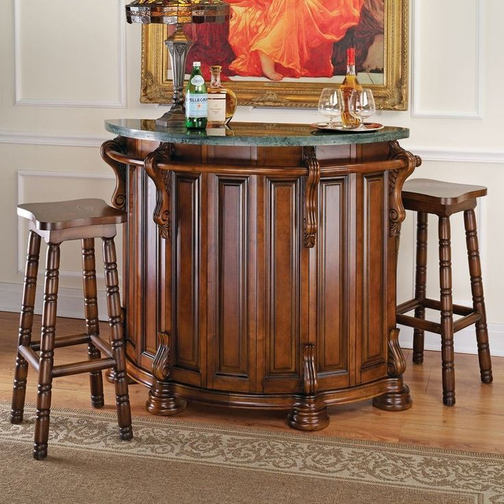 Design Toscano AE6575 The Lion Rose Marble Topped English Bar Pub