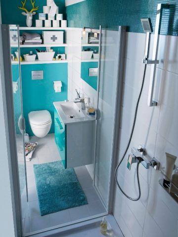 Des portes de douches étroites pour se glisser dans les espaces réduits - Une salle de bains de 3 m2, dix possibilités d'aménagement