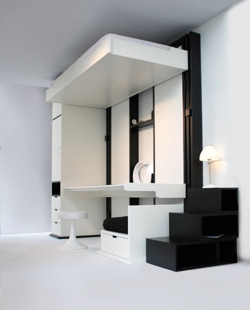 les 25 meilleures id es de la cat gorie lit escamotable plafond sur pinterest lit superpos. Black Bedroom Furniture Sets. Home Design Ideas
