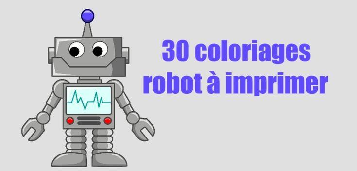 Si votre enfant veut faire un coloriage robot à la maison, vous pouvez en choisir un à imprimer gratuitement chez vous parmi ces 30 coloriages de robot...