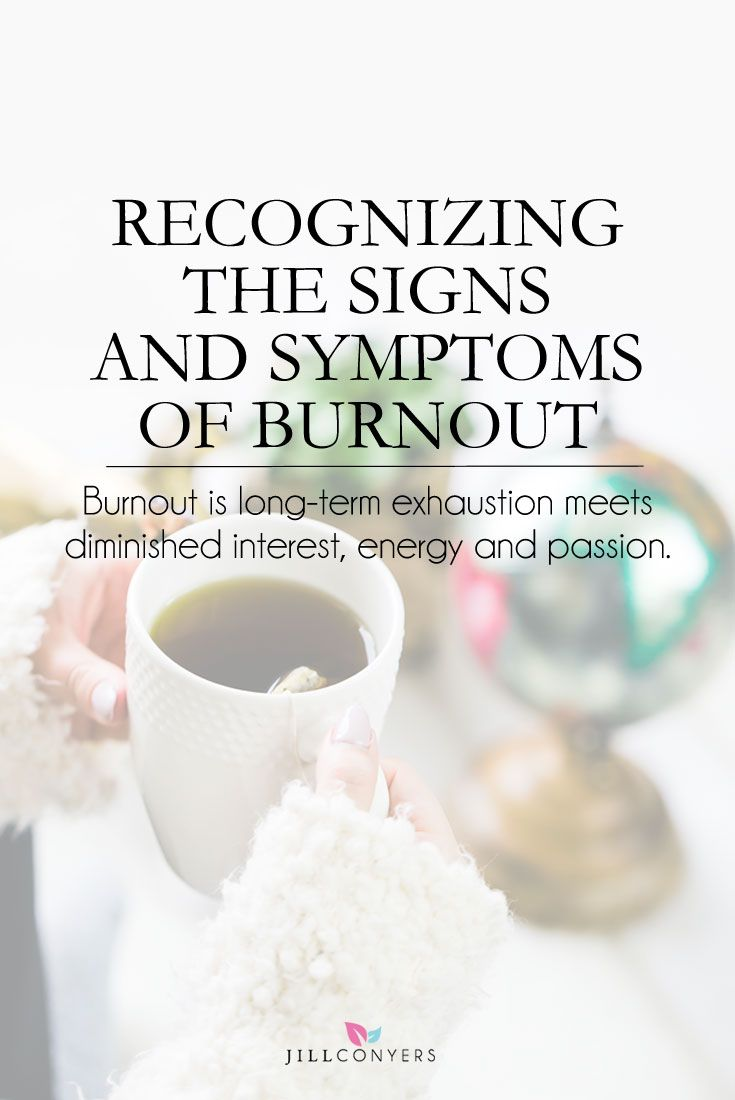 Looking back not too long ago I now recognize a time when I was very burned out. It wasn't until I started making changes in my lifestyle and started feeling incredibly good that I realized how bad it was. Burnout is long-term exhaustion meets diminished interest, energy and passion. Sound familiar? Click through to http://jillconyers.com to read the full article and find out what you can do about burnout.