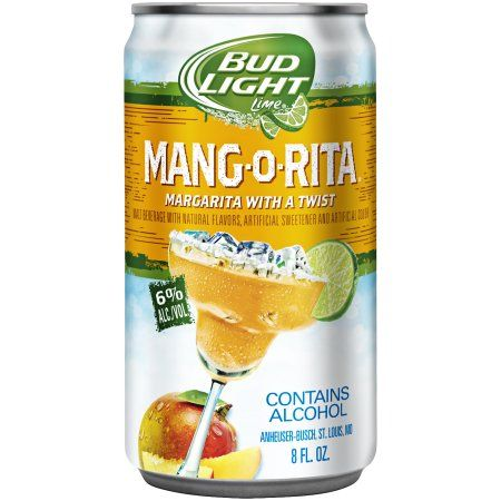 Bud Light Lime Mang-O-Rita, 8 fl. oz. Can