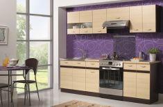 kuchyně ELIZA 240 - komplet rijeka světlá / wenge