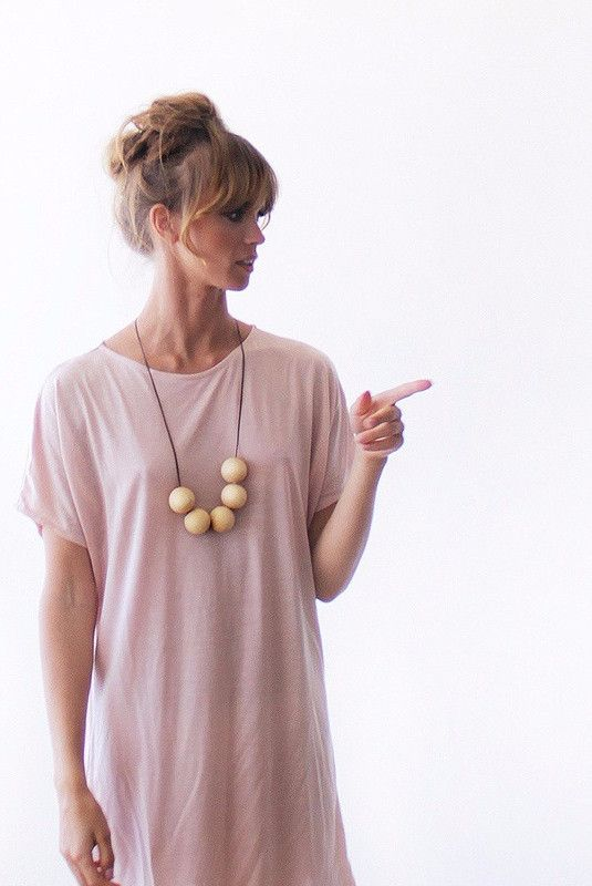 Casual Blush pink midi length dress SALE