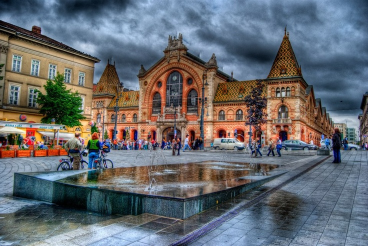 Grand market Hall in Budapest