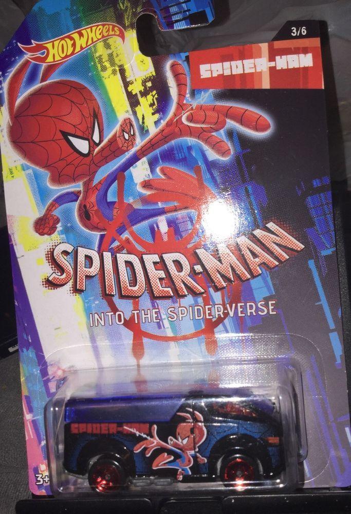 1d4890d04d5608 Hot Wheels Marvel Spider-Man Into the Spider-Verse #3 Spider Ham The  Vanster | eBay