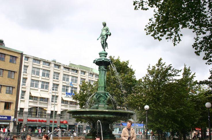 goteborg szwecja  rzeżby..