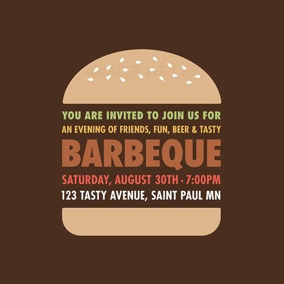 Love this BBQ Invite