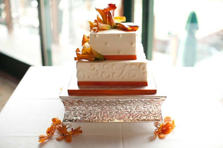orange and white wedding cakes 14 best images about wedding cake on orange 18042