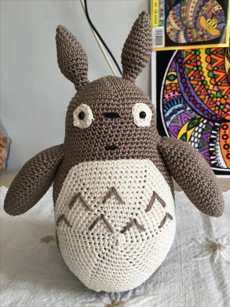 Totoro... #totoro #amigurumi #miecreazioni @stefaniasiller