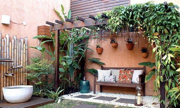 Fotos de paisagismo em jardim pequeno - Paisagismo - Plantas, Flores e Jardins
