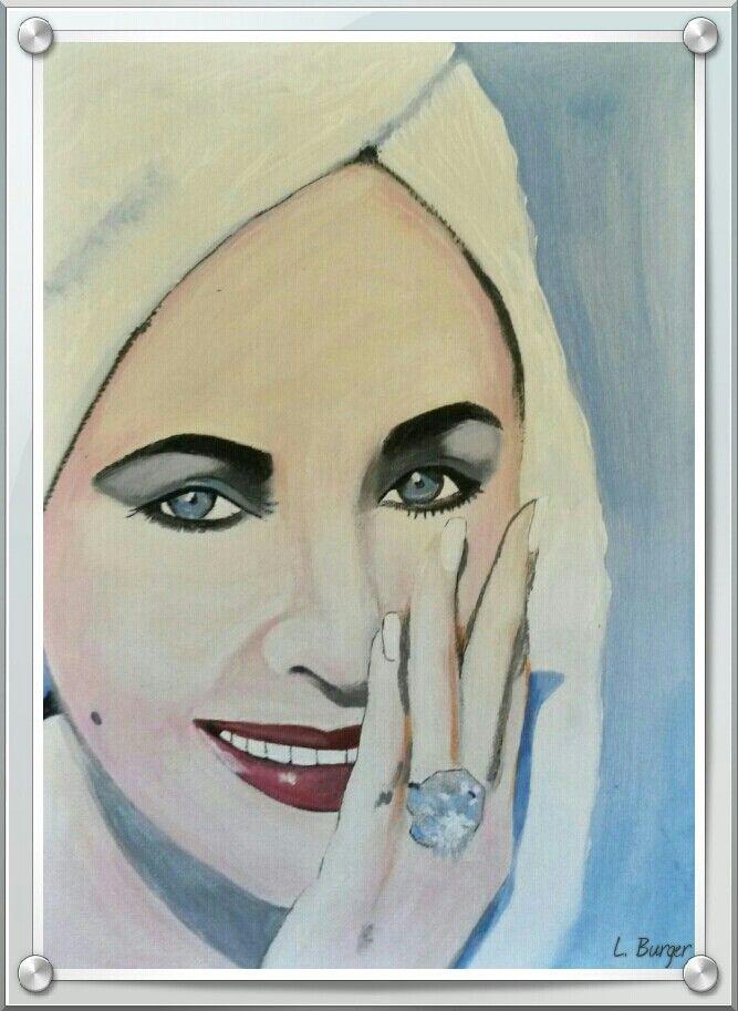 Liz Taylor & Blue Diamond