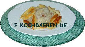 Schupfnudeln, Bubaspitzle ( schwäbisch ) mit Sauerkraut