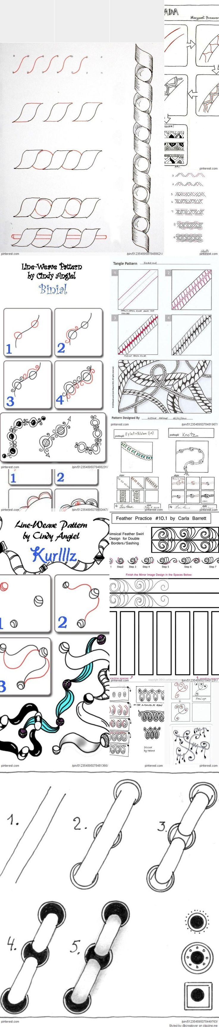 Doodle Steps Lines