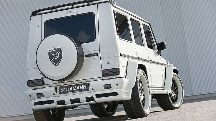 Tuning for the Mercedes-Benz G55