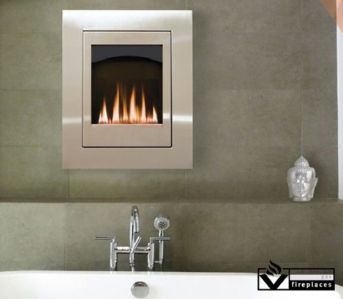 Made to easily fit in any most wall types the eloquence was designed for small spaces and - Gas fireplaces for small spaces property ...