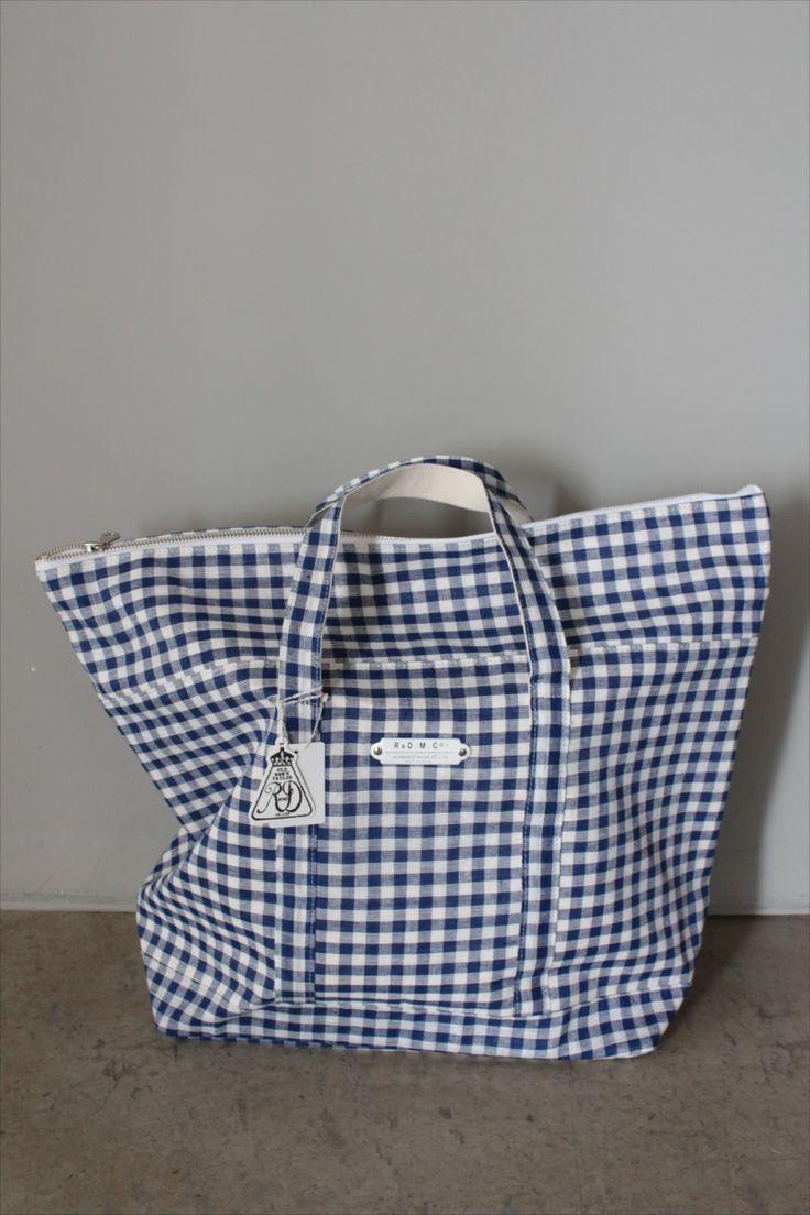 GINGHAM CHECK TOTE BAG LLsize - Other Brand - Veritecoeur(ヴェリテクール)