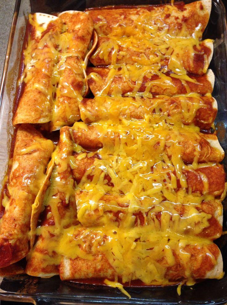 THM Chicken Enchiladas
