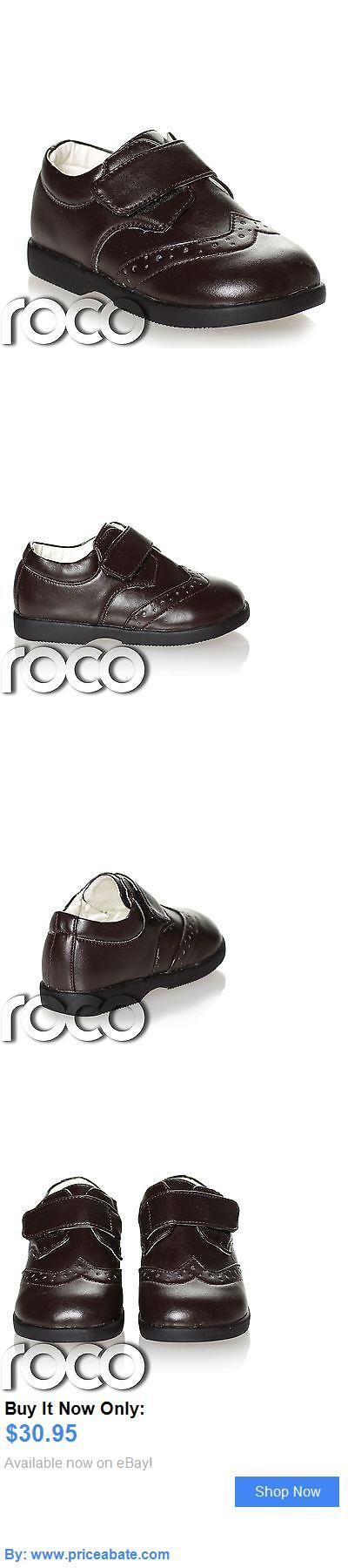 Baby Boy Shoes: Boys Dark Brown Brogue Shoes, Boys Formal Shoes, Page Boy Shoes, Baby Shoes BUY IT NOW ONLY: $30.95 #priceabateBabyBoyShoes OR #priceabate