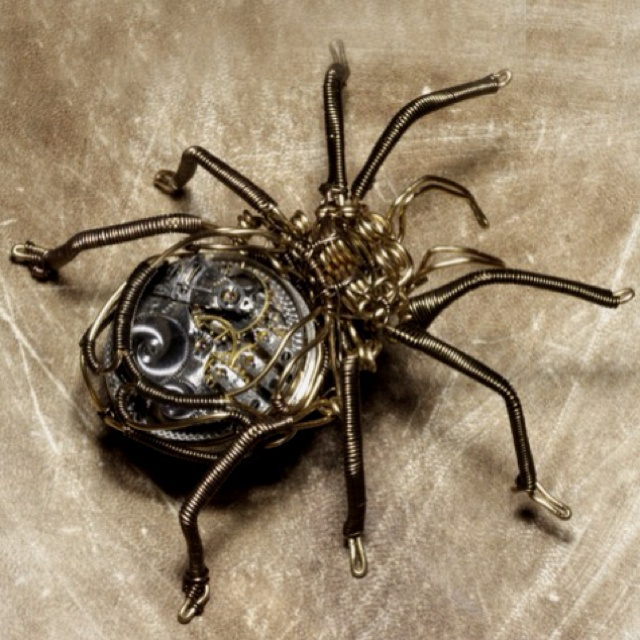 Along came a spider....