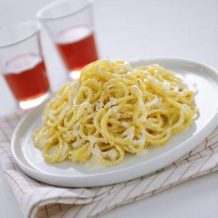 spaghetti al parmigiano