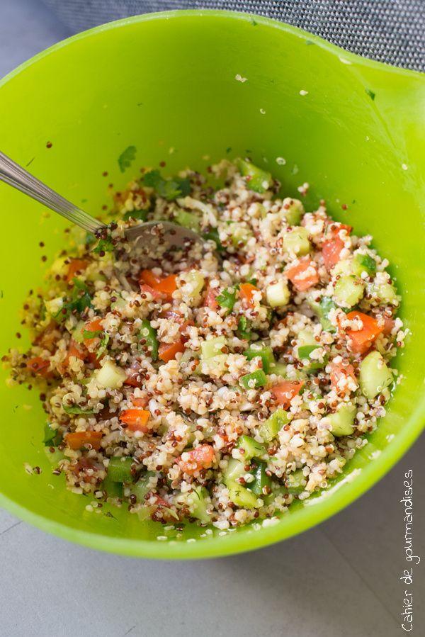 Salade de quinoa facon taboulé                                                                                                                                                                                 Plus                                                                                                                                                                                 Plus