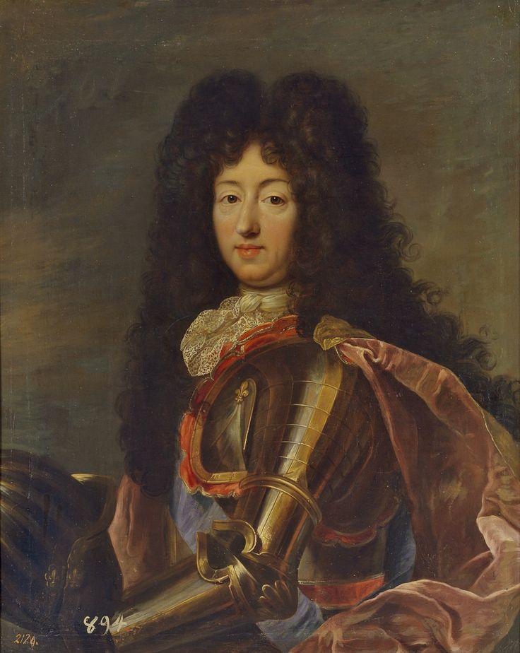 'Monsieur' Philippe de France, 12e. Duc d'Orleans (1640 - 1701), frère du roi Louis XIV.