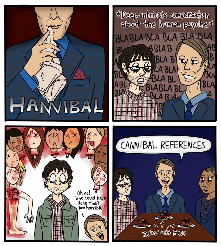 Every Hannibal episode in a nutshell by Kollerline.deviantart.com on @DeviantArt
