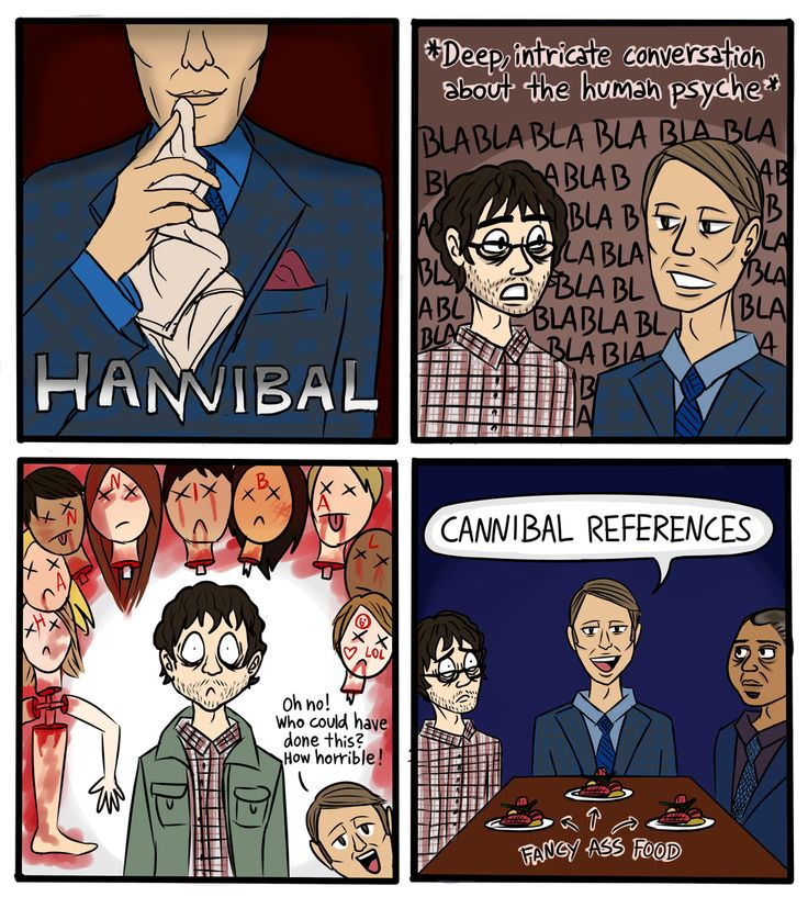 Every Hannibal episode in a nutshell by Kollerline.deviantart.com on @DeviantArt