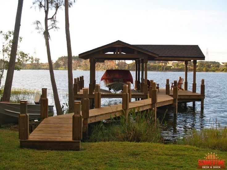 59 best images about boathouse dock ideas on pinterest for Pond pier plans