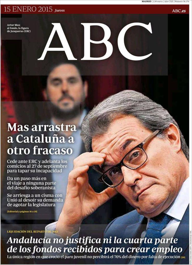 Diario ABC de 15 Enero 2015