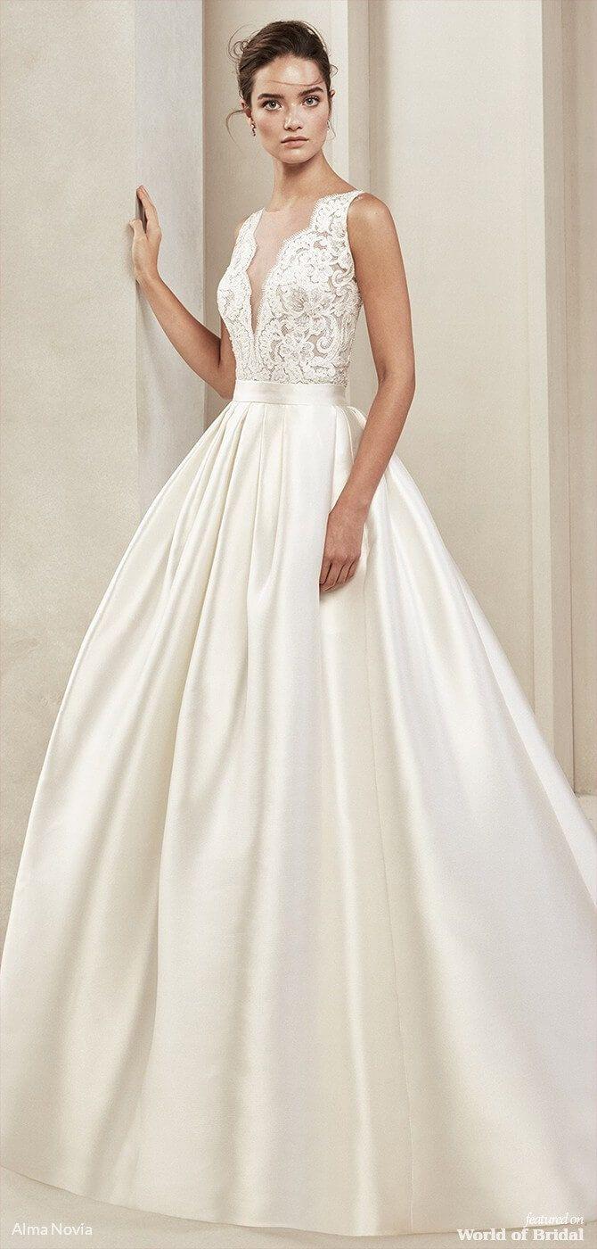 Alma Novia 2019 Marriage ceremony Clothes – World of Bridal