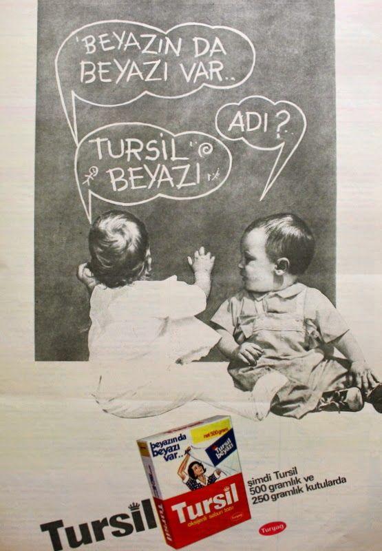 OĞUZ TOPOĞLU : tursil sabun tozu 1970 nostaljik eski reklamlar