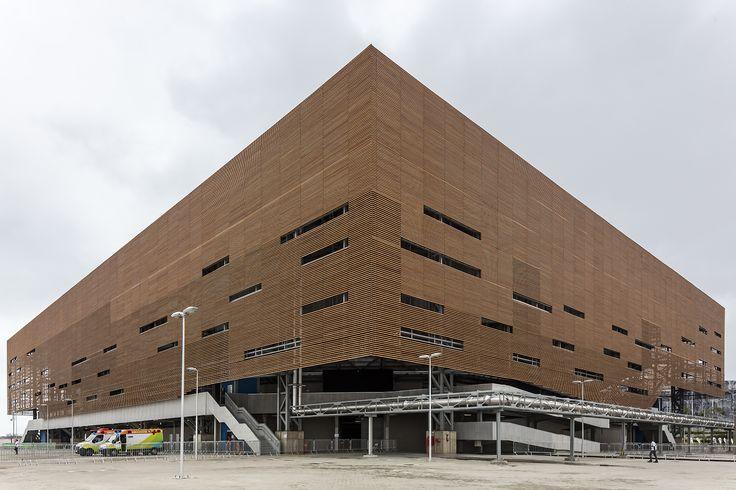 Olimpíadas Rio 2016: Arena de Handebol e Golbol / Lopes Santos e Ferreira Gomes Arquitetos + OA   Oficina de Arquitetos