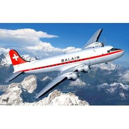 Maquette 1/72 - Douglas DC-4 Balair / Iceland Airways - REVELL