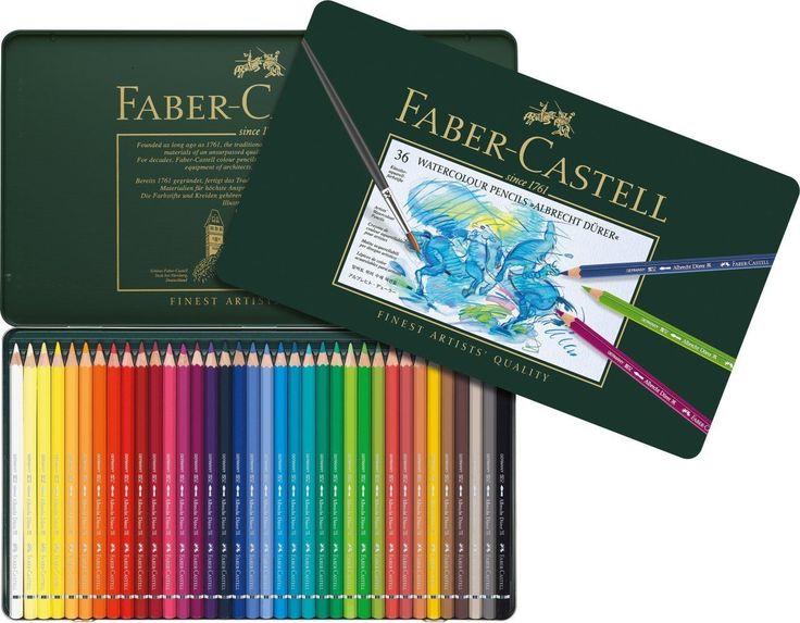 Faber Castell Aquarellstift Albrecht Dürer 36er Metalletui 117536 in Büro & Schreibwaren, Schulbedarf, Schul- & Jugendschreibgeräte | eBay