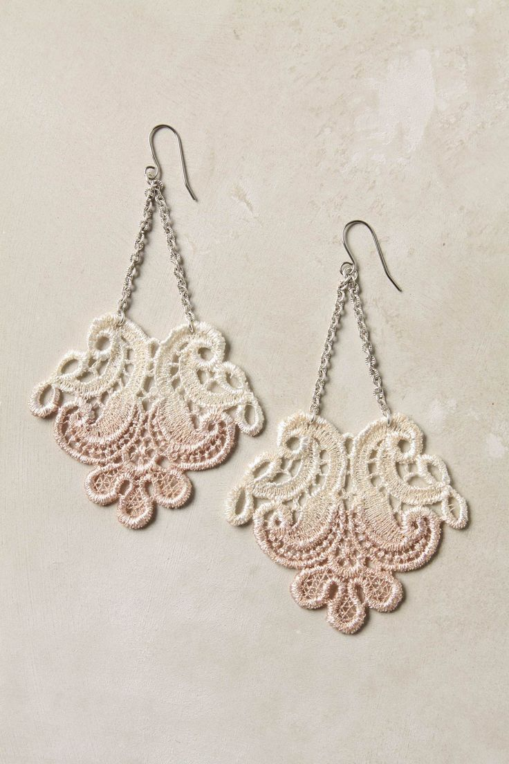 167 best lace earrings images on pinterest | crafts, earrings and