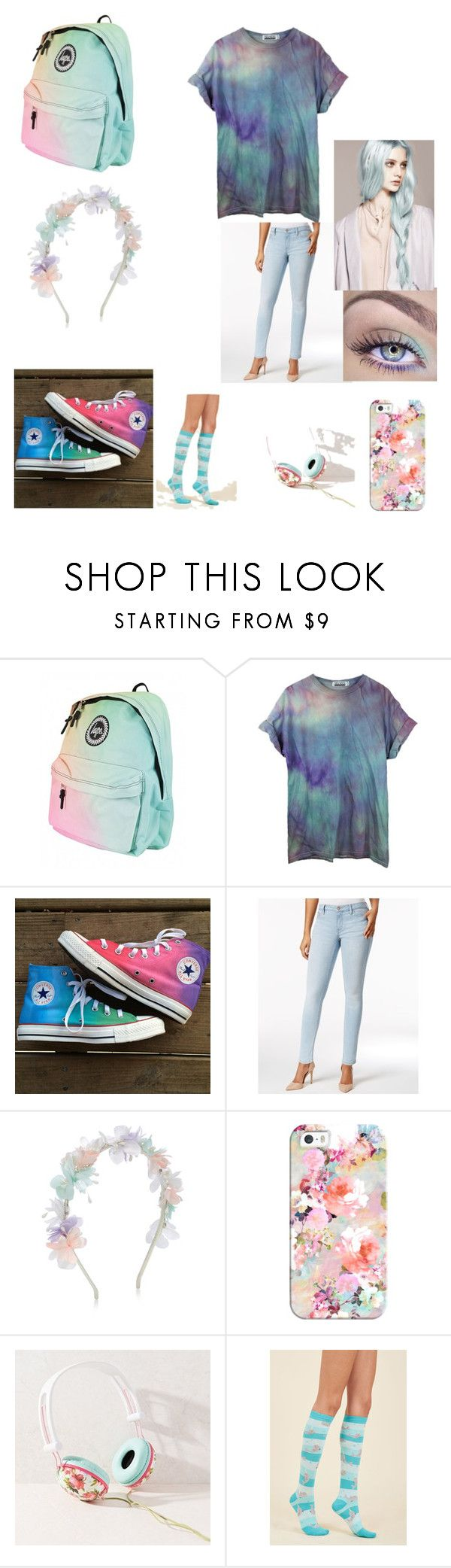 """pastel"" by coolanimal32553 ❤ liked on Polyvore featuring Converse, Calvin Klein Jeans, Monsoon, Casetify and Ankit"