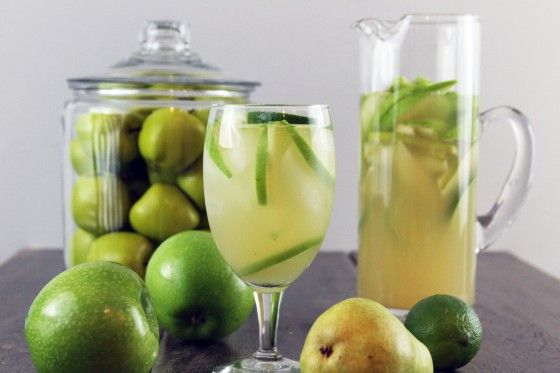 ... : Pear Sparkling, Pears, Pear Sangria Recipes, Apples, Green Apple