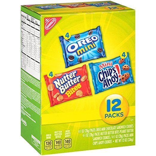 Nabisco Cookies Mini Variety Pack, 12 oz, 12 pk