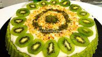 Süper Ispanaklı Tart Kek