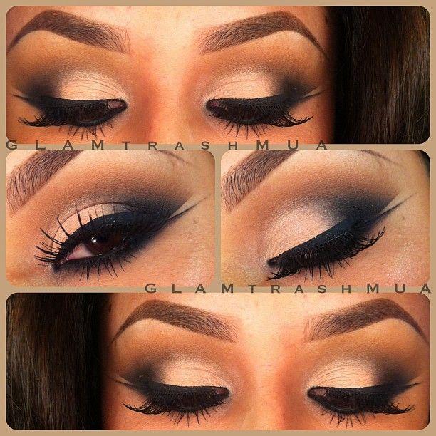 Glamorous Winged liner ♥✤ @glam_trash_mua